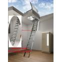 Escalier escamotable  Aci Alluminio Terrasse