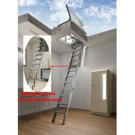 Escalier escamotable  Aci Svezia Terrasse
