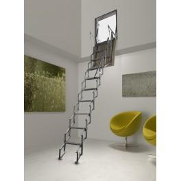 Mur d'escalier escamotable