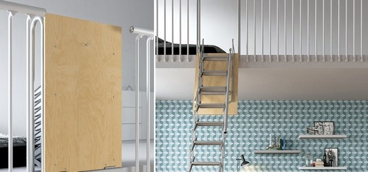 Escaliers escamotables retactrable Escalierescamotable